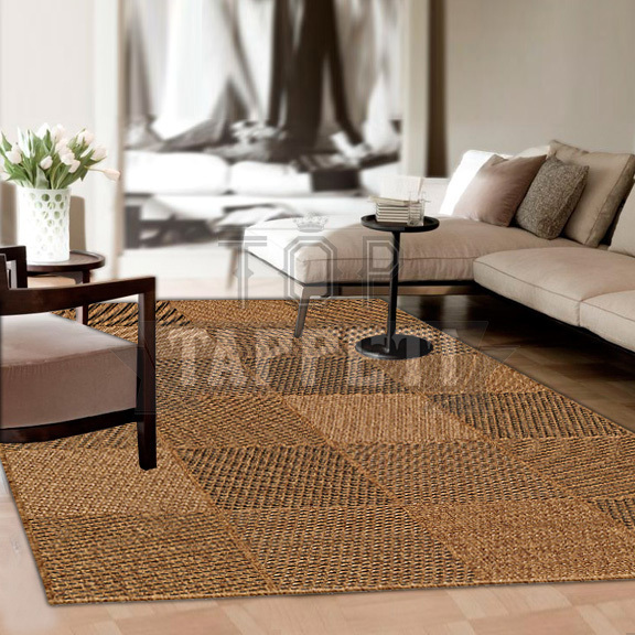 GRACE OUTSTYLE - Tappeto Stuoia Indoor/Outdoor in Juta - Resistente ideale per esterno - 39181-273