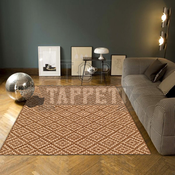 GRACE OUTSTYLE - Tappeto Stuoia Indoor/Outdoor in Juta - Resistente ideale per esterno - 39363-275