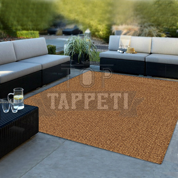 GRACE OUTSTYLE - Tappeto Stuoia Indoor/Outdoor in Juta - Resistente ideale per esterno - 39044-75