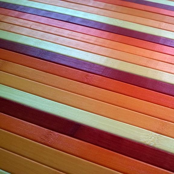 Bamboo cucina tappeto passatoia deluxe degrade arancio - Tappeto cucina bamboo ...
