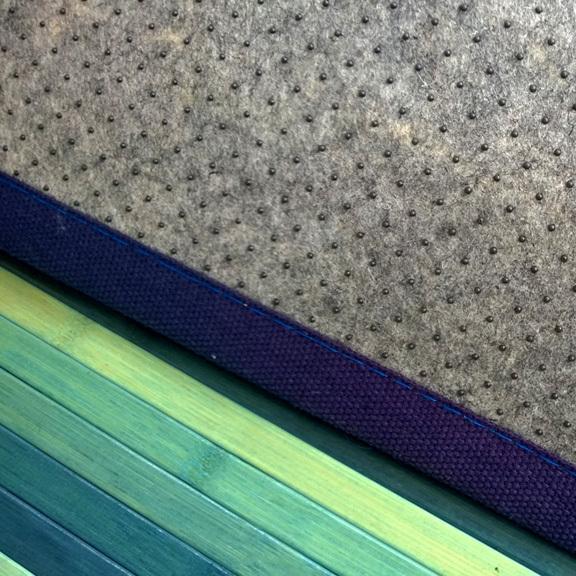 Bamboo cucina   tappeto passatoia deluxe degrade   verde acqua ...