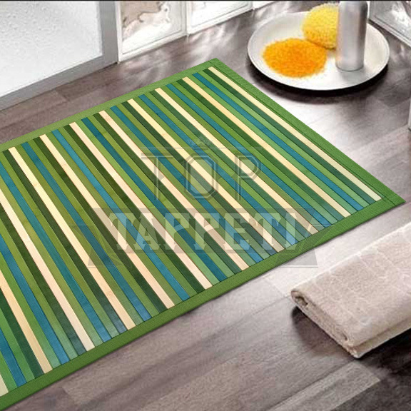 BAMBOO BAGNO - Tappetino Deluxe Degrade - Verde - Top Tappeti ...