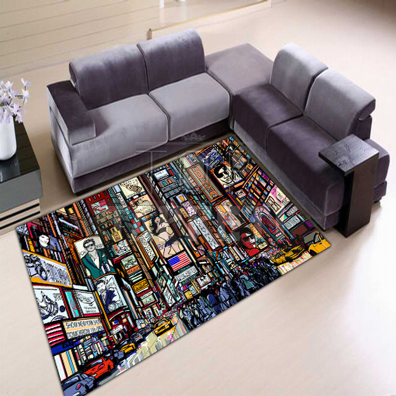 SOUL - Tappeto Moderno Stampa Digitale - New York Street - Top ...