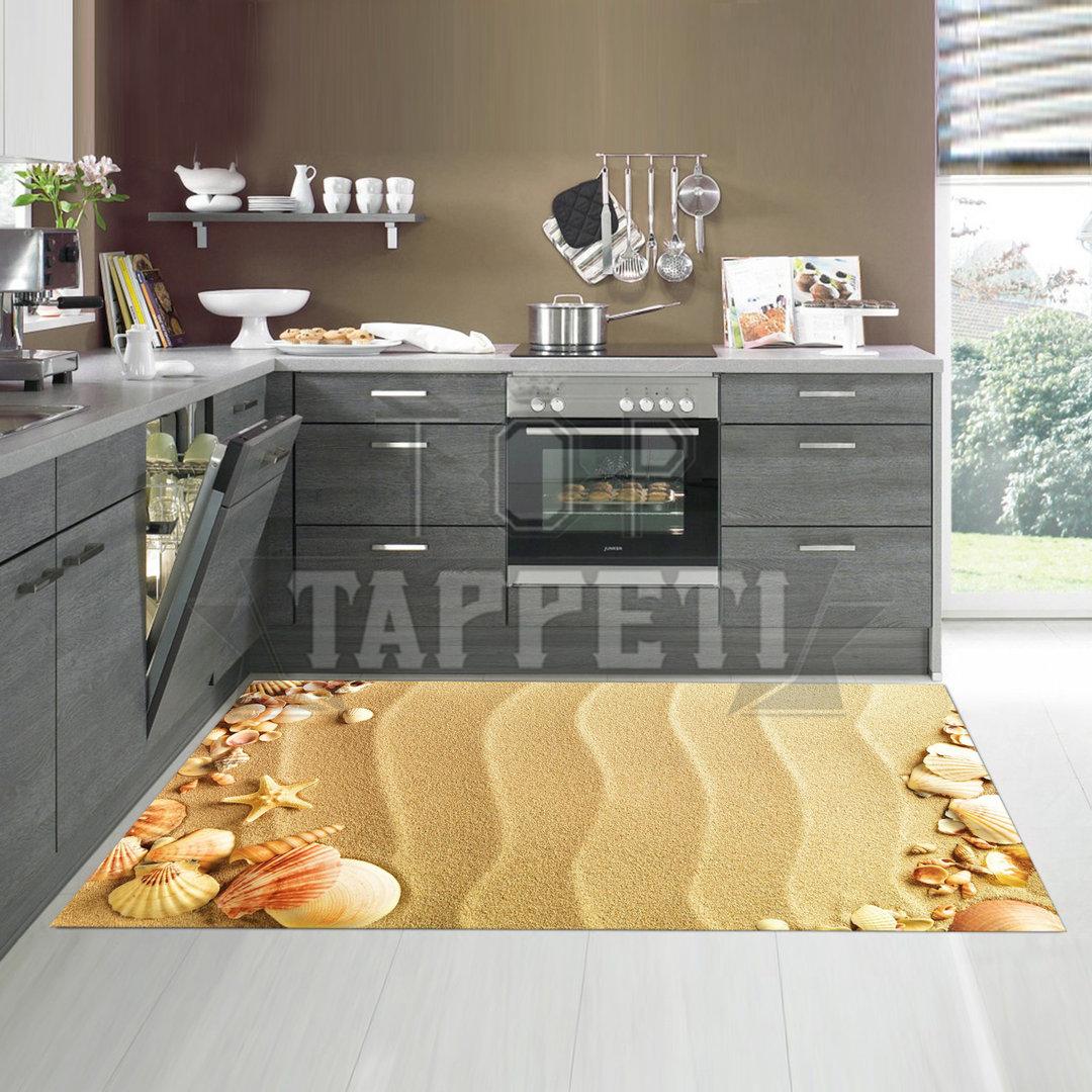 Kitchen tappeto passatoia cucina stampa digitale for Tappeti per cucine moderne